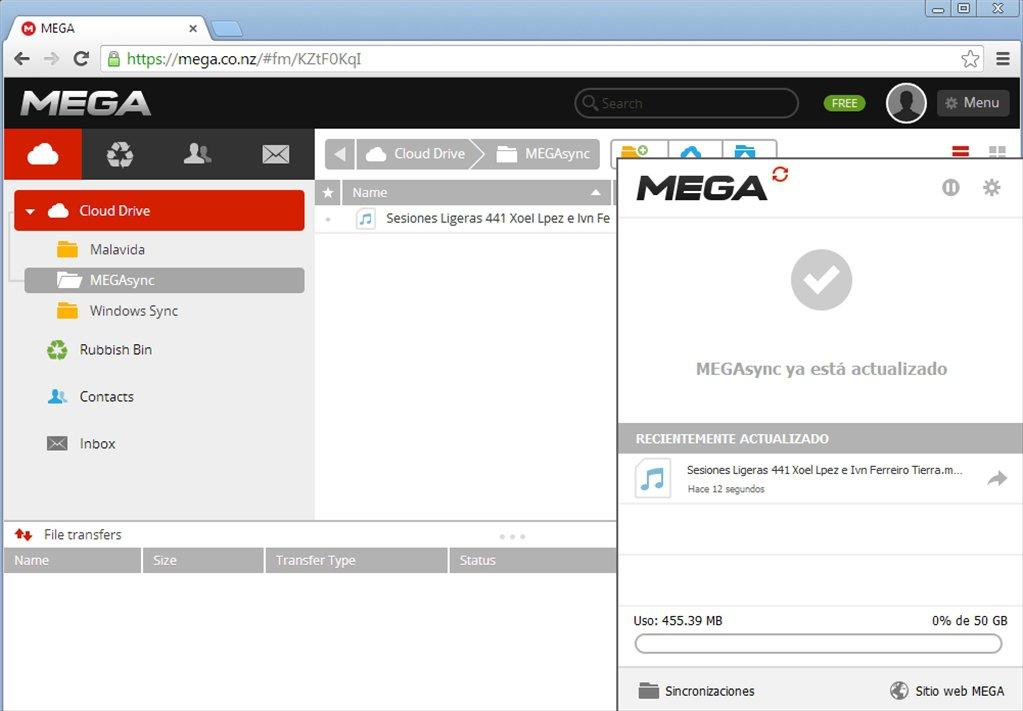MEGAsync-windows-pc-free-download